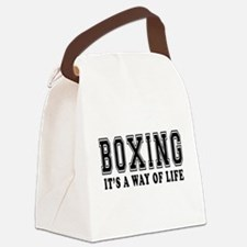 Bowling It's A Way Of Life Canvas Lunch Bag