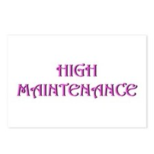 High Maintenance Postcards (Package of 8)