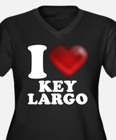 I Heart Key Largo Plus Size T-Shirt
