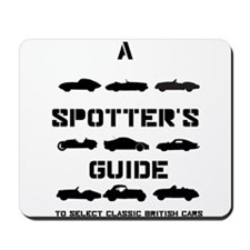 Spotter's Guide to Select Classic British Cars Mou