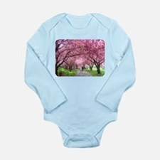 Cherry Blossom Stroll Body Suit