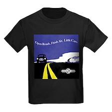 Open Roads, Fresh Air, Little Cars T-Shirt