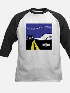 Open Roads, Fresh Air, Little Cars Baseball Jersey