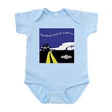 Open Roads, Fresh Air, Little Cars Body Suit