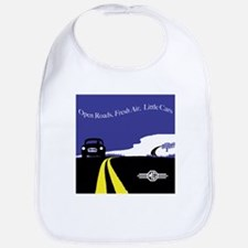 Open Roads, Fresh Air, Little Cars Bib