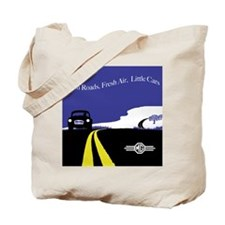 Open Roads, Fresh Air, Little Cars Tote Bag