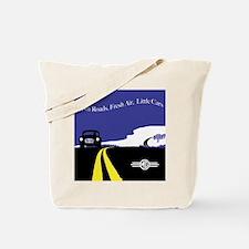 Open Roads, Fresh Air, Little Cars Tote Bag