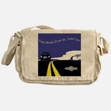 Open Roads, Fresh Air, Little Cars Messenger Bag