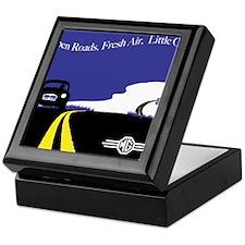 Open Roads, Fresh Air, Little Cars Keepsake Box