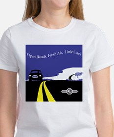 Open Roads, Fresh Air, Little Cars T-Shirt