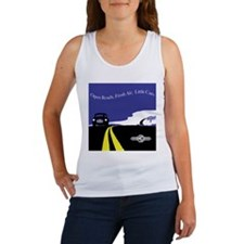 Open Roads, Fresh Air, Little Cars Tank Top