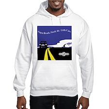 Open Roads, Fresh Air, Little Cars Hoodie