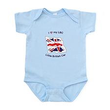 I Heart my LBC (Little British Car) Body Suit