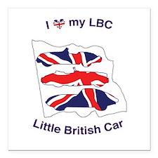 I Heart my LBC (Little British Car) Square Car Mag