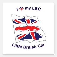 I Heart my LBC (Little British Car) Square Car Mag