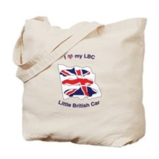 I Heart my LBC (Little British Car) Tote Bag
