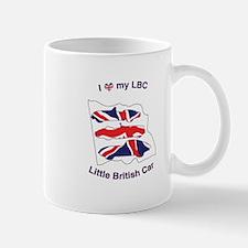 I Heart my LBC (Little British Car) Mug