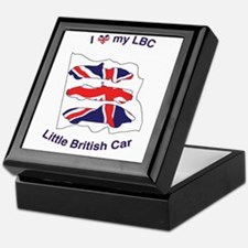 I Heart my LBC (Little British Car) Keepsake Box