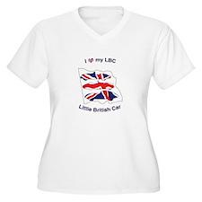 I Heart my LBC (Little British Car) Plus Size T-Sh