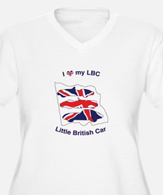 I Heart my LBC (Little British Car) Plus Size T-Sh