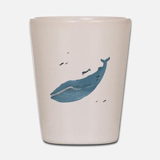 Blue Whale - Shot Glass