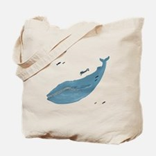 Blue Whale - Tote Bag
