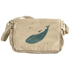 Blue Whale - Messenger Bag