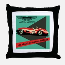Aston Martin: Centennial Throw Pillow