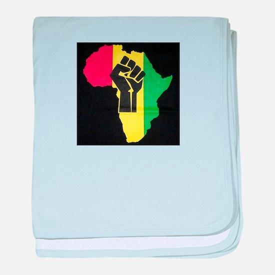 Pan Africa baby blanket