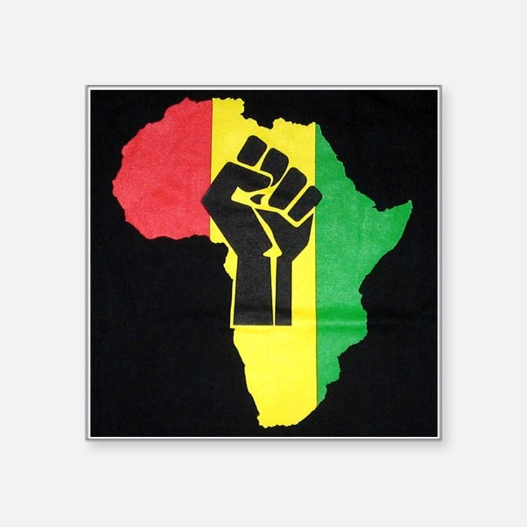 Pan Africa Sticker