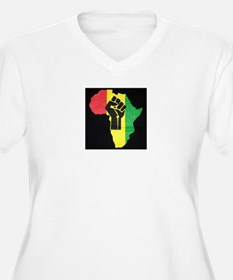 Pan Africa Plus Size T-Shirt