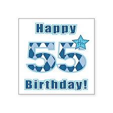 Happy 55h Birthday! Sticker