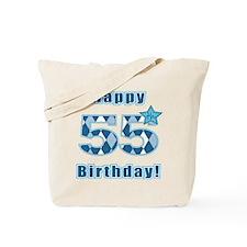 Happy 55h Birthday! Tote Bag