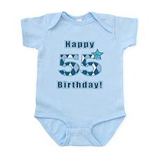 Happy 55h Birthday! Body Suit