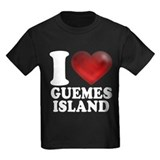Guemes island Kids T-shirts (Dark)
