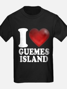 I Heart Guemes Island T-Shirt