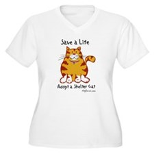 sheltercat Plus Size T-Shirt