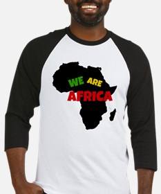 WE ARE AFRICA Baseball Jersey