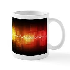 Red, Yellow, Black Graphic Mug