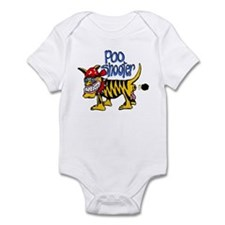 Cute Poo shooter Infant Bodysuit