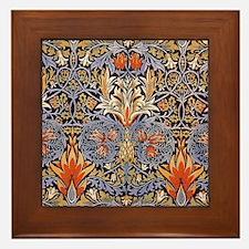 Morris Snakeshead Design Framed Tile