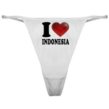 I Heart Indonesia Classic Thong