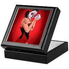 Skull Love - dia de los muertos Pin-up Keepsake Bo