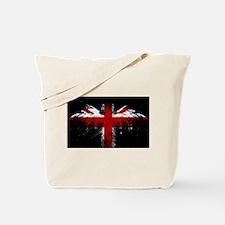 Union Jack Eagle Tote Bag