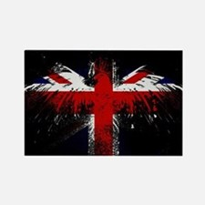 Union Jack Eagle Rectangle Magnet