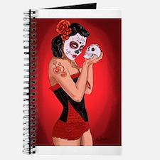 Skull Love - dia de los muertos Pin-up Journal