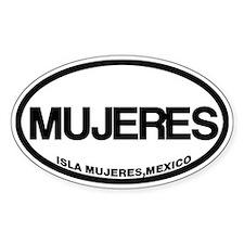Isla Mujeres, Mexico Bumper Stickers