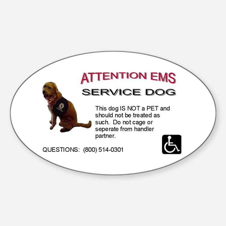 Decal: EMS Notice Decal