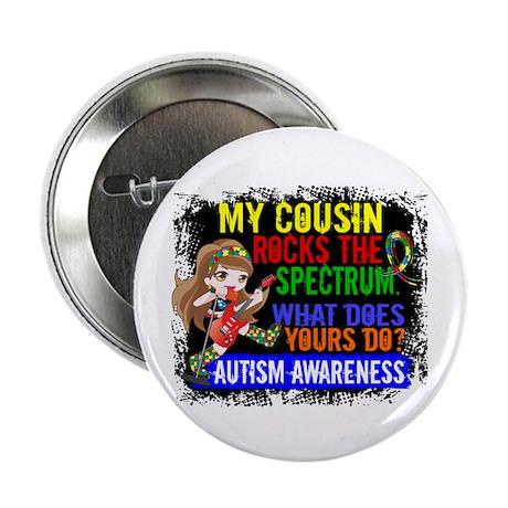 """Rocks Spectrum Autism 2.25"""" Button (10 pack)"""