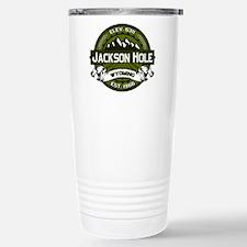 Jackson Hole Olive Travel Mug